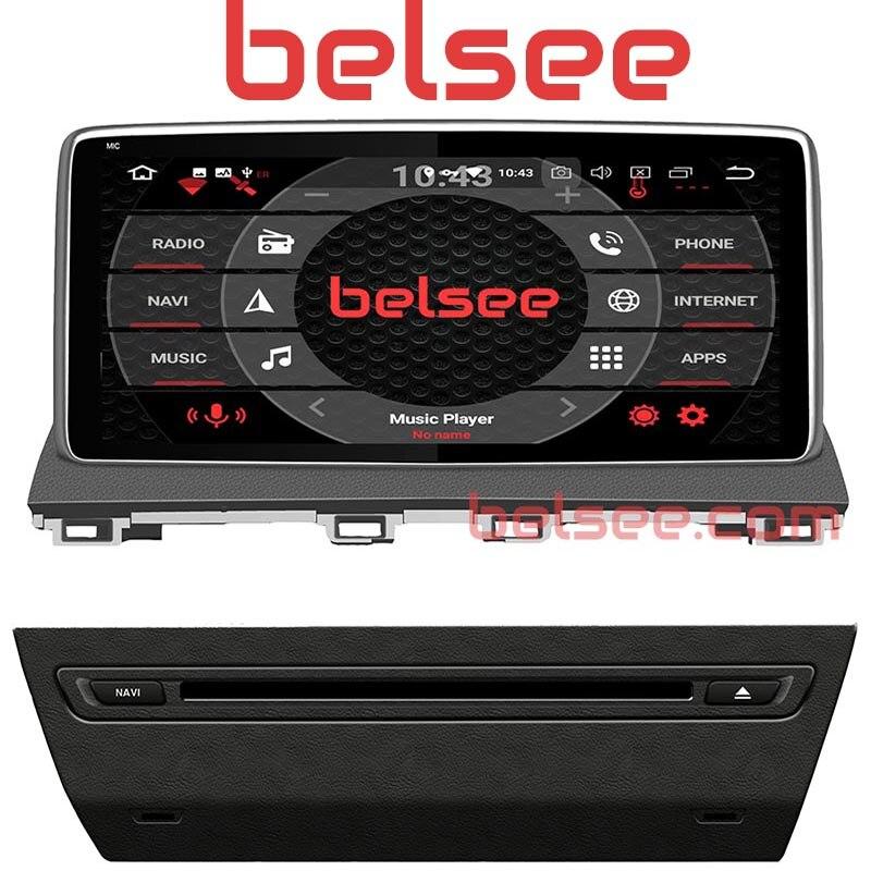 Belsee 10.25 IPS Écran Octa base Android 8.0 Voiture Stéréo Radio Auto Tête Unité GPS navigationfor Mazda 3 2013 2014 2015 2016 2017