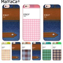 MaiYaCa Kpop exo Lucky one name High Quality phone cover for iphone 11 pro 8 7 66S Plus X 10 5S SE XR XS XS MAX cover(China)