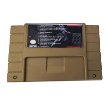New version 14 in 1/16 in 1 game cartridge Video Games with  Memory Card  For S N E S