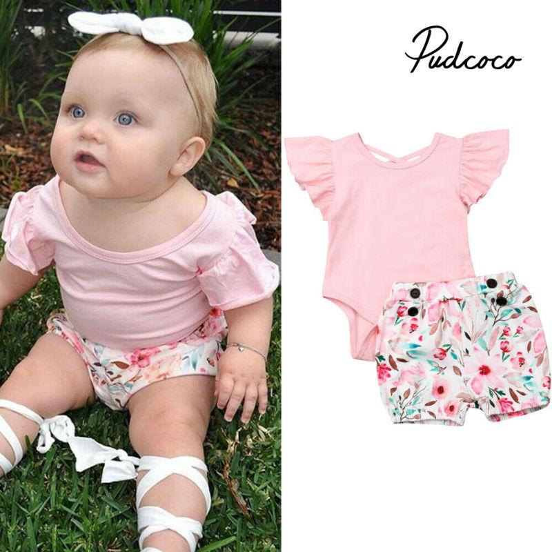 Summer 2pcs Newborn Baby...