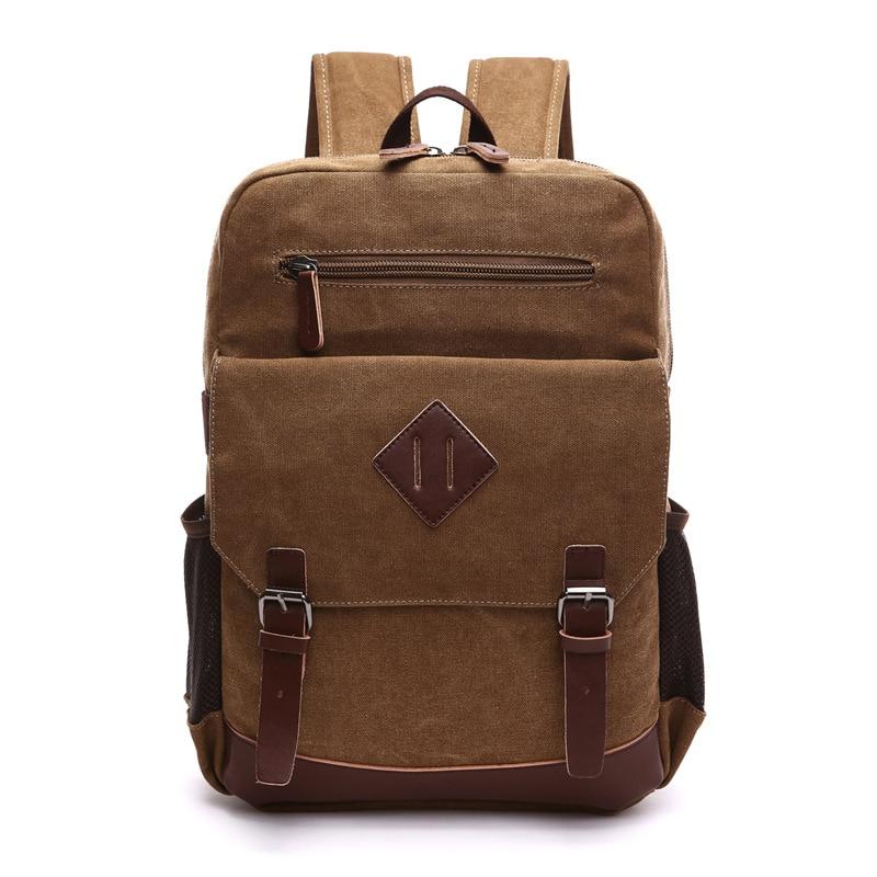 New Men Backpack Neutral Canvas women Backpack Travel Laptop girl School bag mochila feminina 2019 dropshipping male bagpack