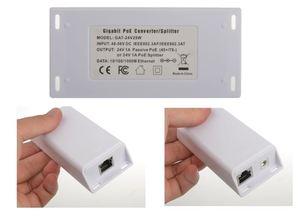 Image 4 - PoE Conversor Conversor de POE 802.3at compatível para 24 v Passiva, gigabit PoE Splitter para UBNT/Mikrotik com Saída 24V25w