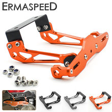 CNC Aluminum Motorcycle License Plate Holder Rear Registeration Plate Frame Mount Bracket for KTM Duke 125 200 390 690 990 1290(China)