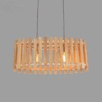 Candelabro de madera maciza con diseño de Príncipe  iluminación creativa  comedor  dormitorio  candelabro minimalista de madera  cornucopia MZ148