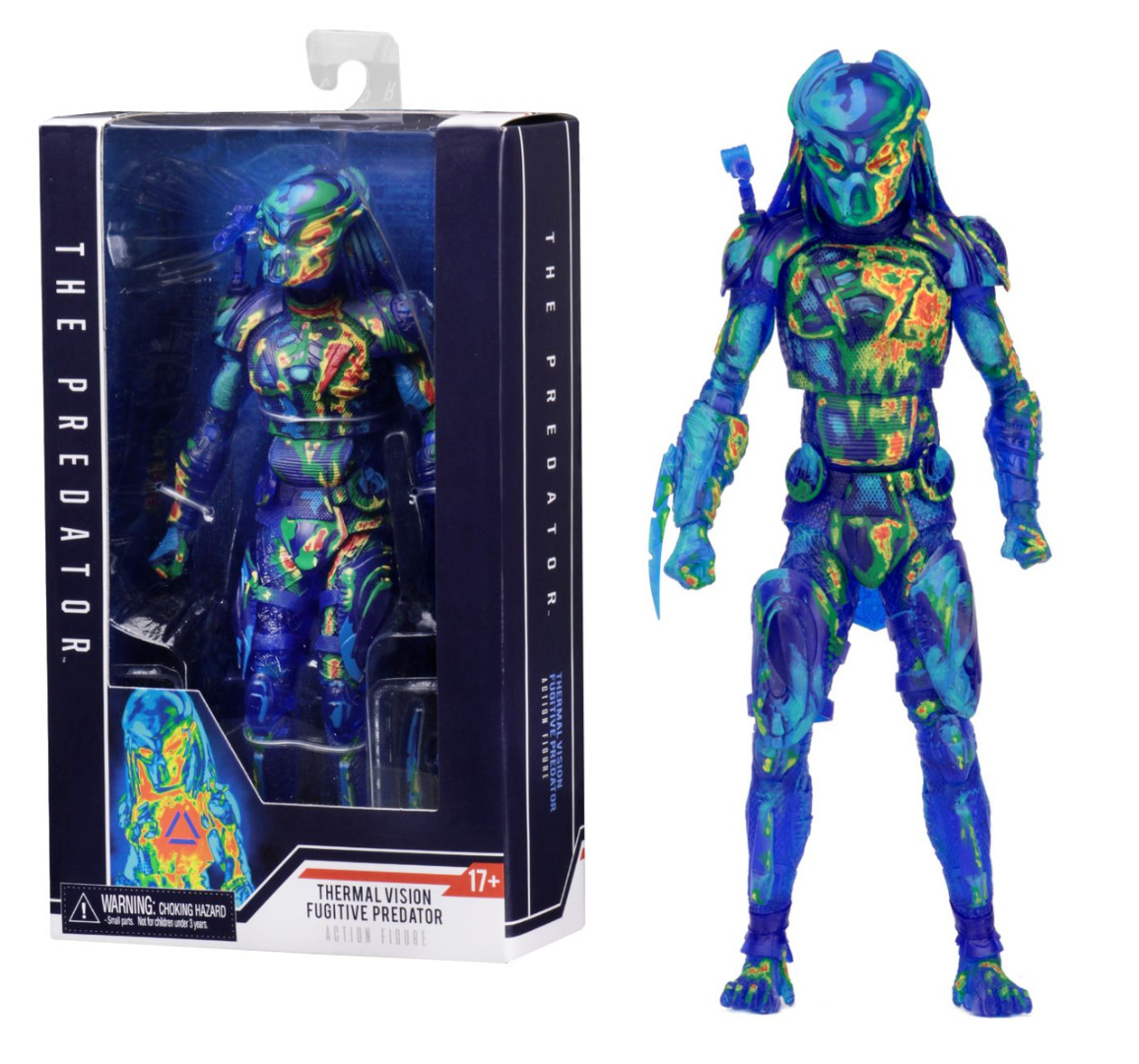 NECA The Predator Action Figures 2018 New Thermal Vision BJD Toys 18cmNECA The Predator Action Figures 2018 New Thermal Vision BJD Toys 18cm