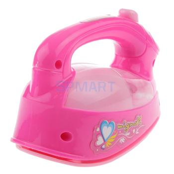 Laundry Clothing Ironing Pretend Play Toy Kids Electric Light Sound Iron