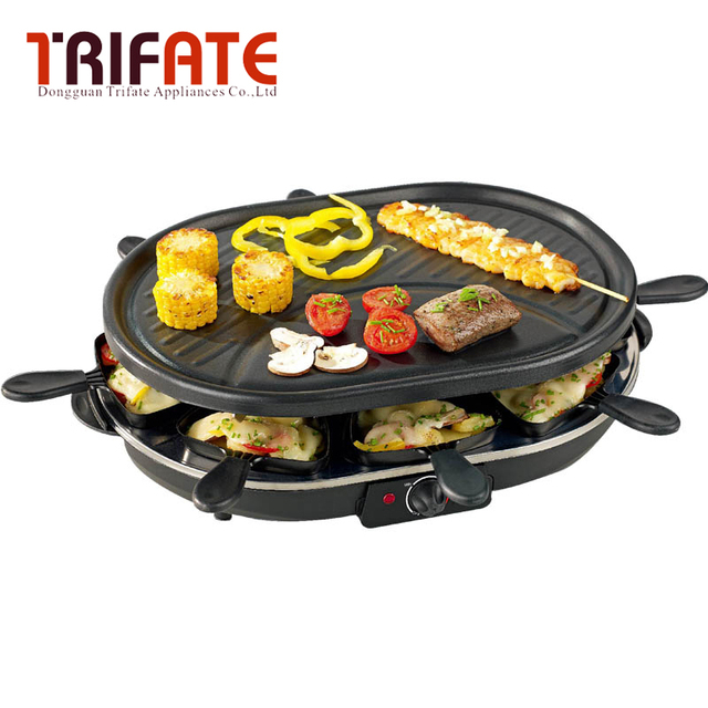 Household double layer electric barbecue grill smokeless BBQ Indoor ...