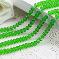 Free Shipping!  5040 AAA Top Quality  green color  loose Glass Rondelle beads.2mm 3mm 4mm,6mm,8mm 10mm,12mm