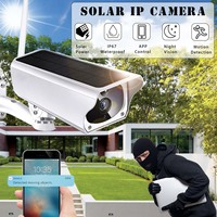 Solar Power Wifi Wireless IP Camera Outdoor IP67 Waterproof 1080P Night Vision APP Remote Monitor Security Surveillance Camera