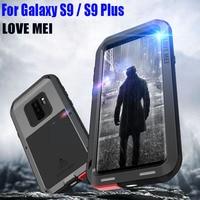 For SAMSUNG GALAXY S9 PLUS Original Lovemei Heavy Duty Shock Drop Proof Aluminum Metal case for Galaxy S9 S904