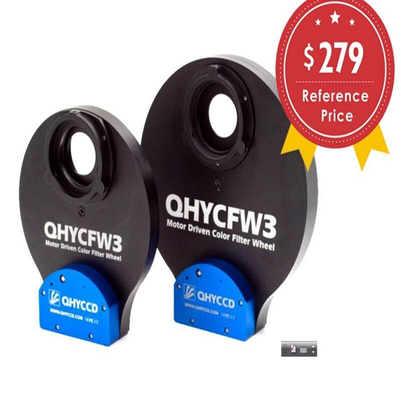 QHYCFW3-S 36mm 6 ps 1.25 pouces 7 ps roue filtrante électrique télescope roue filtrante