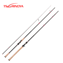 TSURINOYA SWORDSMAN 2.62m Spinning or Casting Fishing Rod FUJI Reel Seat and FUJI Guide Ring MH Power Distance Throwing Lure Rod цены