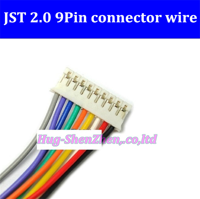 Pack of 20 PH2.0 Connector Housing Cable 15cm Yellow