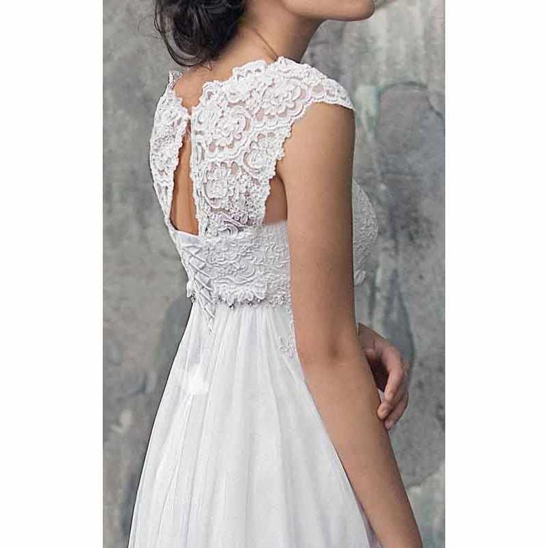 Vestido דה Noiva שיפון חתונת שמלה גבוהה מותן יולדות שמלות כלה לנשים בהריון תפור לפי מידה אימפריה כלה שמלות
