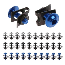 1Set  10x 6mm Motorcycle Fairing Bolt Nut Spire Speed Fastener Clip Screw For Yamaha Dropshipping