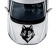 Наклейка на автомобиль beauty Wolf, Виниловая пленка для автомобиля-Стайлинг, авто капот двигателя, украшение Мотоцикла, Фреска, чехлы, Аксессуары для автомобилей