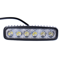 2Pcs 18W LED Work Light Driving Light Bar For 4x4 Off Road SUV Car Truck Trailer