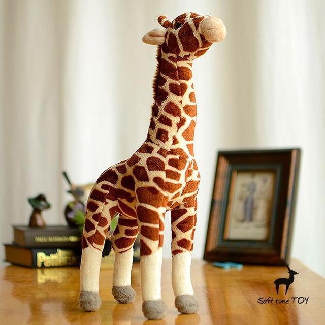 Stuffed Animals  Children'S Toys Plush Giraffe Doll  Simulation Deer Toy
