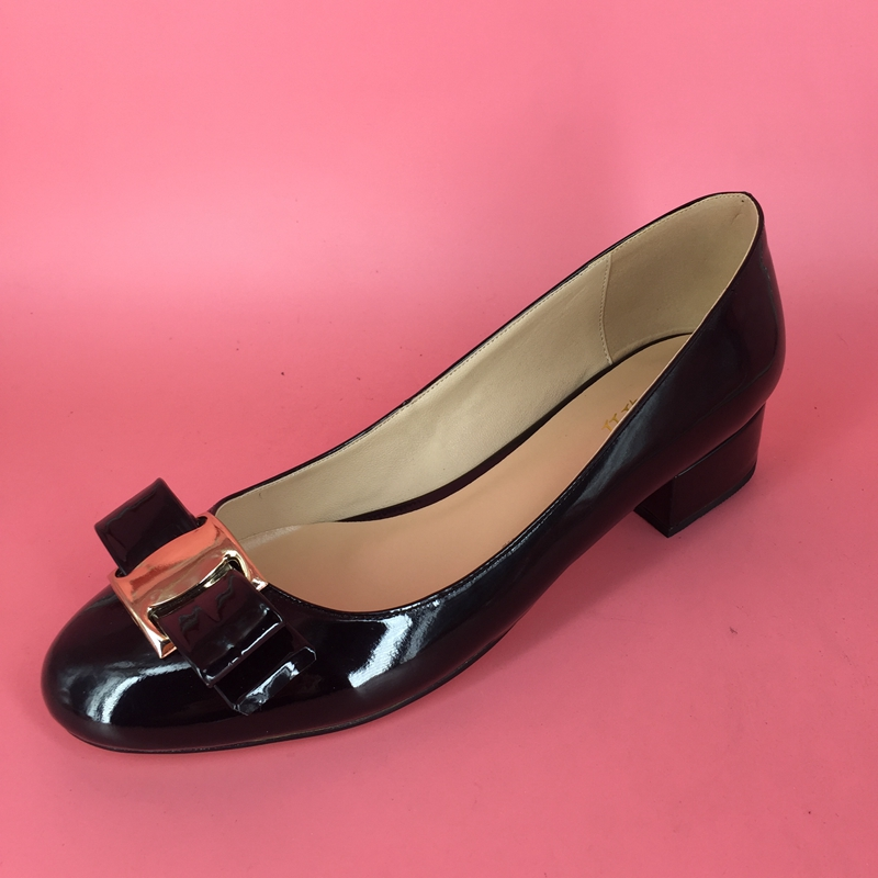 ФОТО 2017 Black Sorbern Women Sandals Bow Slip On Square Heels Custom Made Plus Size Zapatos Mujer Sapato Feminino Ladies Party Shoes