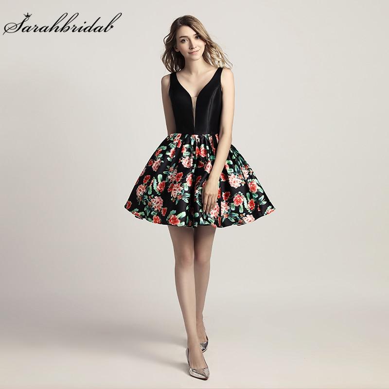 Νέες Αφίξεις Floral Εκτύπωση Φορέματα - Ειδικές φορέματα περίπτωσης - Φωτογραφία 1