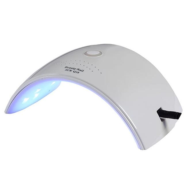 Biutee שמש Q18 בתוספת 36 W UV LED נייל מנורת 18 נוריות נייל מייבש עבור כל ג 'לי עם 30 s /60 s כפתור מושלם אגודל פתרון