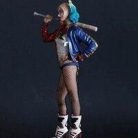 Suicide Squad Model Toys 12 inch Quinn Action Figure Figure Joker Collectible Xmas Gift for Kids Children Hobbies Decor Gadget