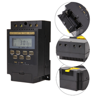 KG316T II AC220V 25A Din Rail LCD Digital Programmable Electronic Timer Switch Digital Timer Controller KG316T