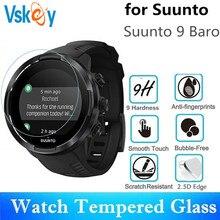 VSKEY 20pcs Tempered Glass For Suunto 9 Baro Screen Protector Anti Scratch Diameter 43mm Protective Film