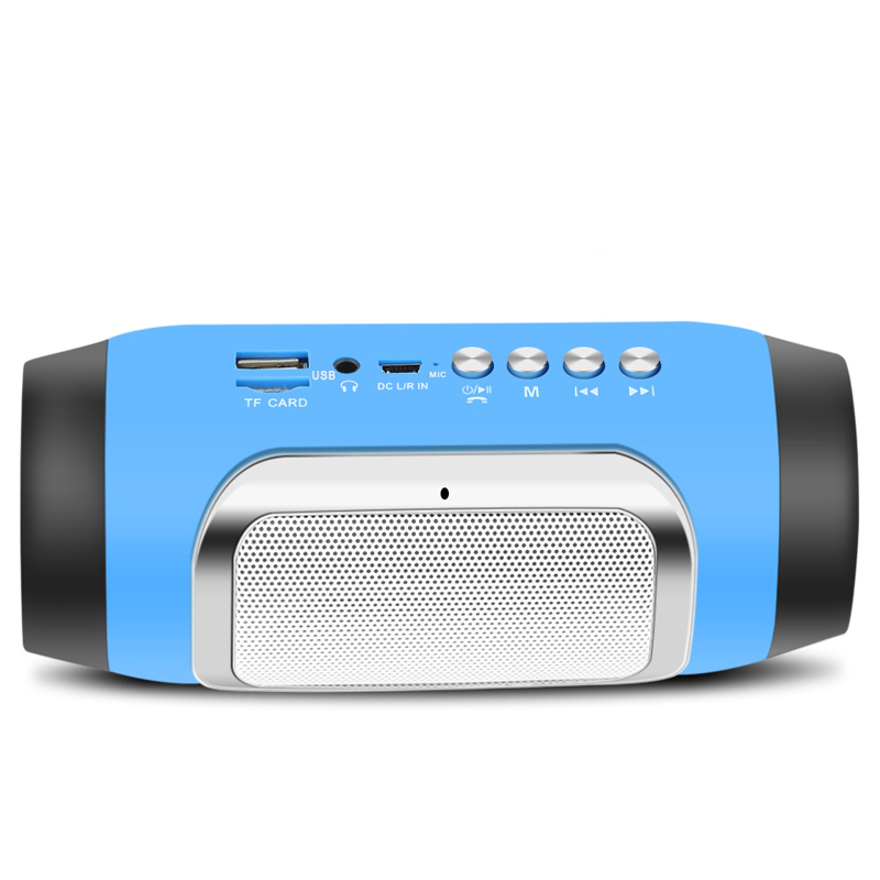 MINI Bluetooth Speakers Portable Stereo HIFI Music Speaker Wireless COOL Loundspeakers with Mic Fm TF Card for Xiaomi portable mini led bluetooth speakers wireless small music audio tf usb fm light stereo sound speaker for phone xiaomi with mic