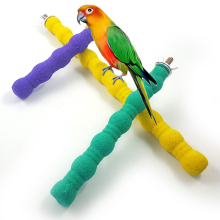 Птичий попугай, окунь, подставка, держатель, цветные наждачные игрушки, шлифовальный коготь, клетка для домашних животных, аксессуары на платформе, жевательная игрушка, 3 размера, товары для птиц