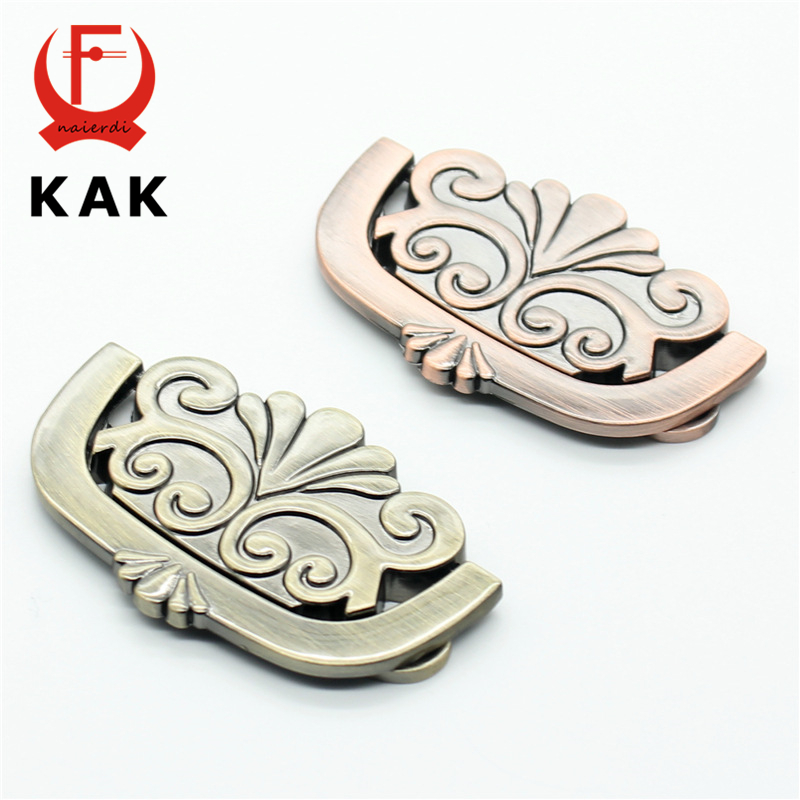 KAK Antique Brass European style handles wardrobe door handles cabinet pull drawer knobs Vintage furniture hardware furniture drawer handles wardrobe door handle and knobs cabinet kitchen hardware pull gold silver long hole spacing c c 96 224mm