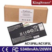 Фотография New original Tablet Battery For ACER iconia Tab A1-810 W4-820 AC13F8L W4-820P A1-A810 1CP5/60/80-2 AC13F3L 3.75V 5340mAh