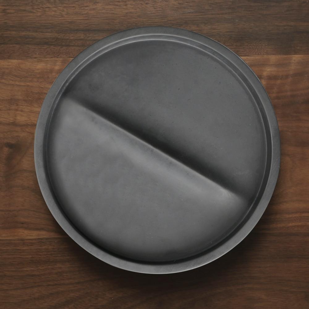 Przy SN0037 gel de silice plaques de fruits moule rond plaque de ciment silicone moules tasse eau béton plat à la main moule résine moules