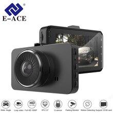 hot deal buy e-ace 3.0 inch dvr car camera mini camcorder auto video recorder mirror dvr dash camera automotive carcam full hd 1080p dash cam