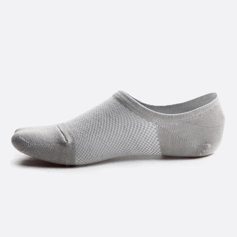 5 pairs/lot Men Bamboo Fiber   Socks   Invisible No Show Boat   Socks   Breathable Short Non-slip   Sock   Casual Business Soft Men's   Socks