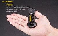 Nitecore t360m usb recarregável farol lanterna tocha multi-purpose magnetic utility luz não bateria