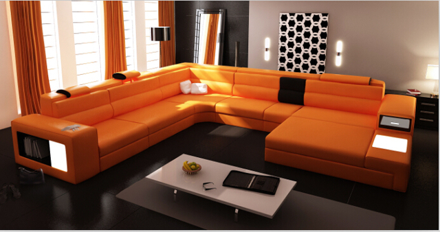 Aliexpress.com : Acquista Ad angolo moderno divani e divani angolari ...