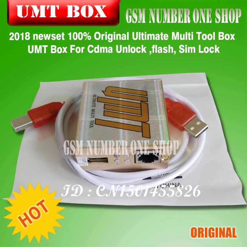 100% Originele Ultimate Multi Tool Box UMT Doos Voor Cdma Ontgrendelen, flash, Sim Lock - 2