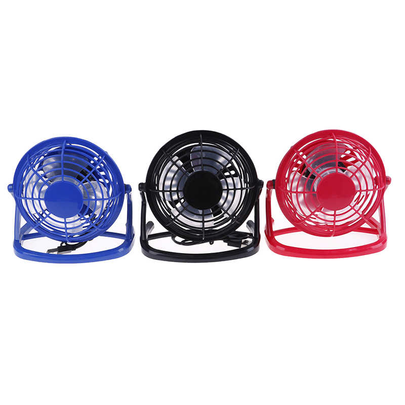 Hot Koop Draagbare Dc 5V Kleine Desk Usb Cooler Cooling Fan Usb Mini Fans Bediening Super Mute Stille Voor pc/Laptop/Notebook