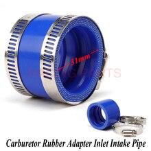 Carburetor Rubber Adapter Inlet Intake Pipe For KEIHI OK KOS 21 24 26 28 30mm PE Motorcycle Pit Dirt Bike