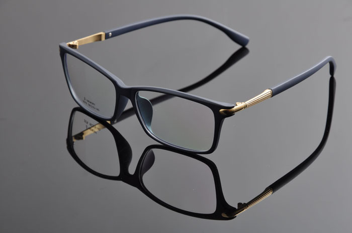 DD TR90 Гибкая рама мужские очки Оптические очки полная оправа для мужчин и женщин armacoes oculos grau Los Lentes Античная DD0885 - Цвет оправы: matt blue gold