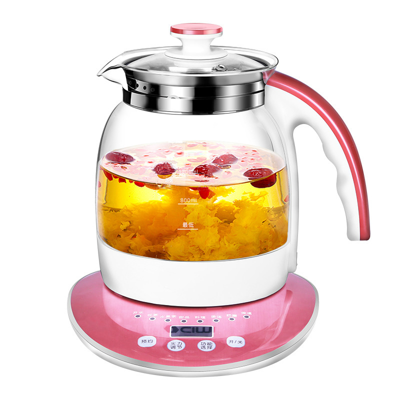 Electric kettle Health raising pot full automatic multi-functional and multi-purpose glass rich medicine of herbalElectric kettle Health raising pot full automatic multi-functional and multi-purpose glass rich medicine of herbal