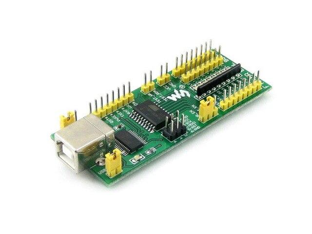 FT245 EVAL Board FT245R FT245RL Развития оценочный Комплект USB К Параллельному FIFO Модуль