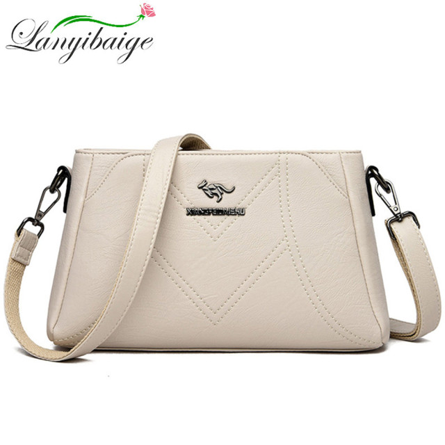 Designer Luxury Brand Ladies Handbags Female Crossbody Bags for Women Feminina Bolsa Leather Shoulder Messenger Bags Sac A Main