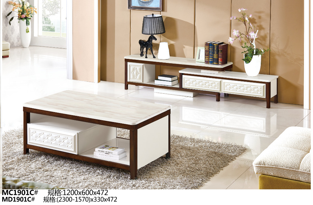MC1901C  MD1901C Modern living room furniture TV stand table cabinet with tea table furniture set кувалда truper md 6f 19884