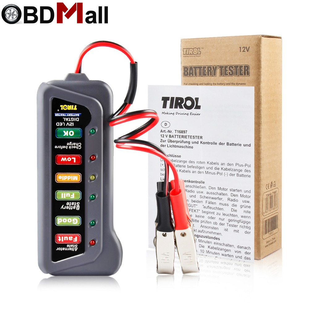 Led Prüfen Best Battery Alternator Tester Check Car Battery Condition