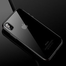 Luxury Silicone Clear Case for iPhone 5 5S SE X 10 6 6S 7 8 Plus