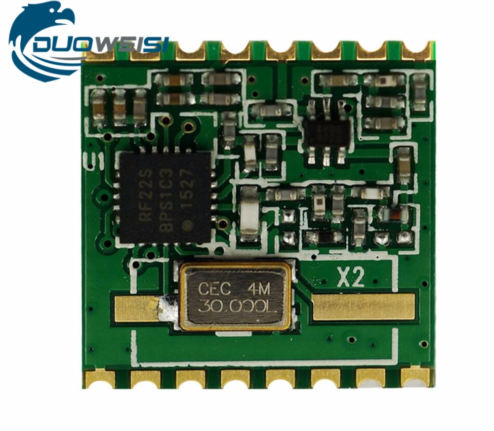 RFM22B RFM22BW| Posts -S2 | SMD-S1 | DIP-D | Wireless Transceiver Module | FSK | 433 | 868 | 915M SI4432 MAIN CHIPS