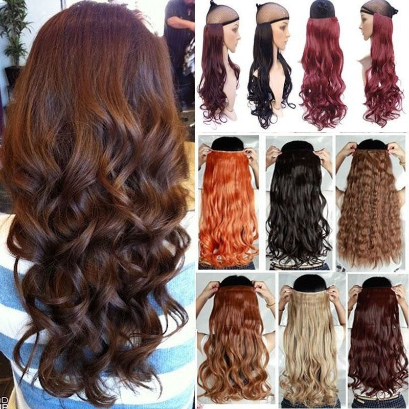 100% Real Thick 200G 17/23/24/26/27/29/30 inches Clip in Full Head Hair Extensions Extension Natural as human own hair piece
