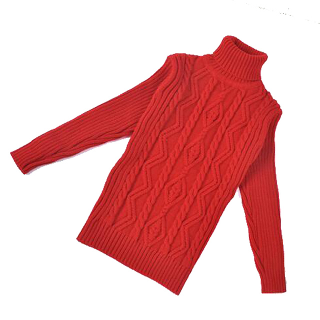New Arrival 2015 New Autumn/Winter Children Sweater Children Turtleneck Baby Boy/Girl Sweater LQ443